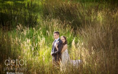 Matthew & Karyn at Cradle Valley