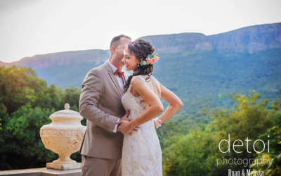 Ruan & Melissa at Green Leaves Country Lodge