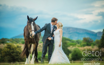 Louwrens & Nadine at The Barn at Redstone